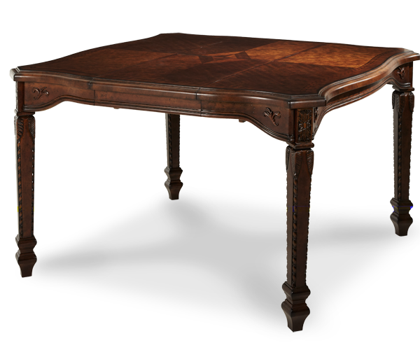 AICO - Michael Amini - Windsor Court Gathering Table (Includes 1 x 20'' Leaf)