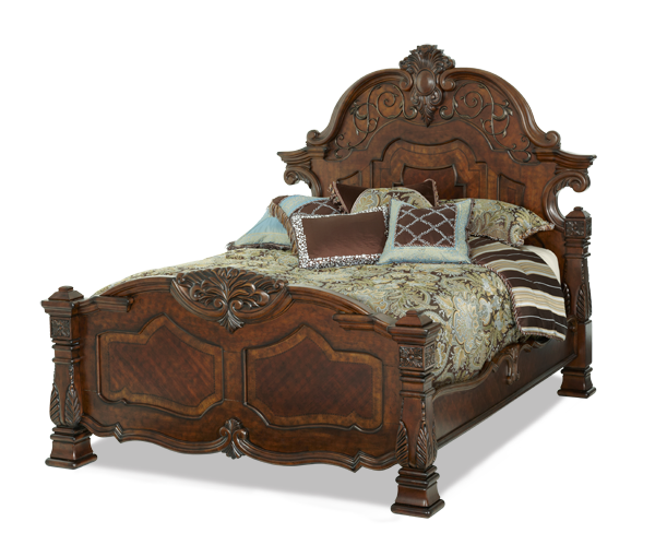AICO - Michael Amini - Windsor Court Cal King Mansion Bed
