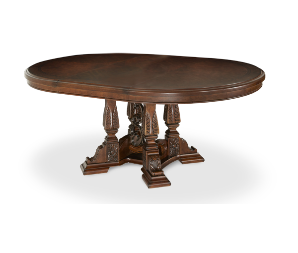 AICO - Michael Amini - Windsor Court Round Dining Table (2 pc)