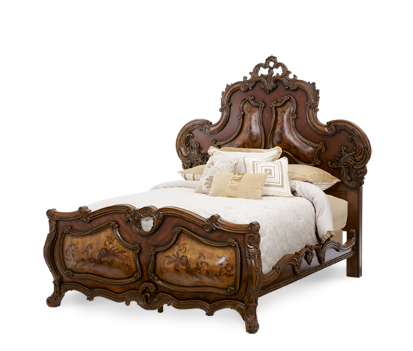 AICO - Michael Amini - Palais Royale King Panel Bed (3 pc)