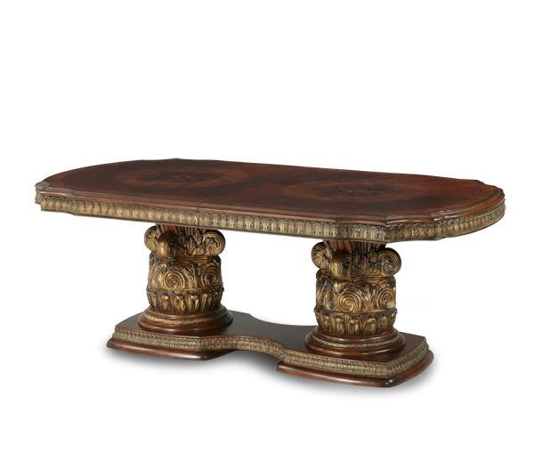 AICO - Michael Amini - Villa Valencia Rectangular Dining Table (3 pc)