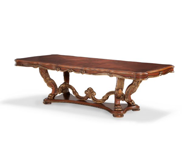 AICO - Michael Amini - Chateau Beauvais Rectangular Dining Table (2 pc)