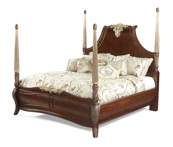 AICO - Michael Amini - Imperial Court California King Panel Bed