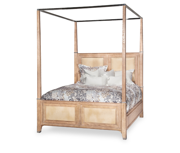 AICO - Michael Amini - Biscayne West Canopy Bed (5 pc)
