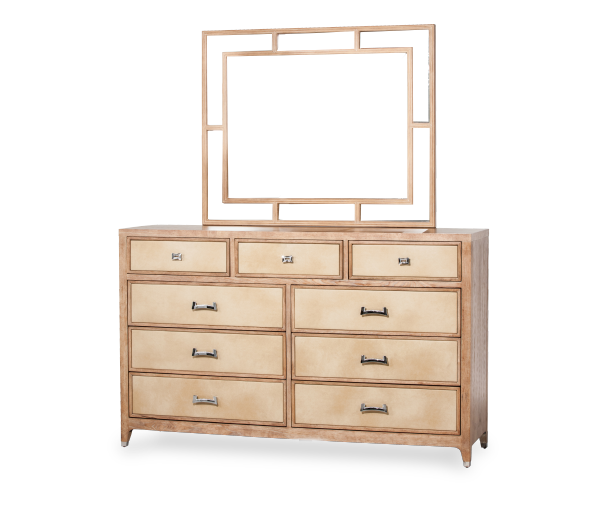 AICO - Michael Amini - Biscayne West Dresser & Mirror (2pc)