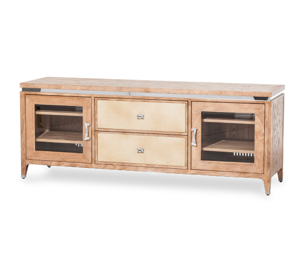 AICO - Michael Amini - Biscayne West Entertainment Console Sand