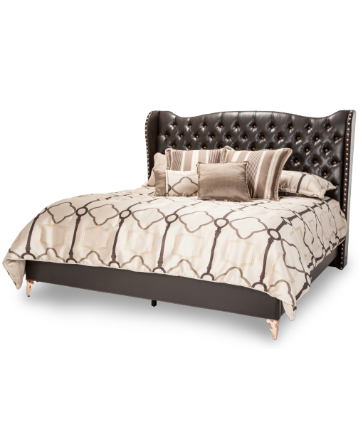 AICO - Michael Amini - Hollywood Loft Cal King Bed Ganache