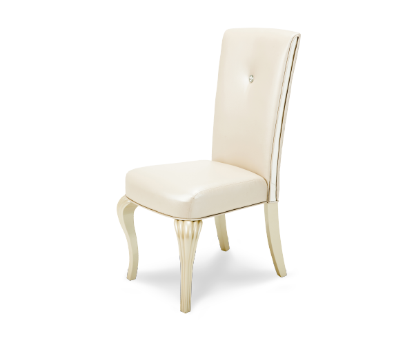 AICO - Michael Amini - Hollywood Loft Side Chair Pearl