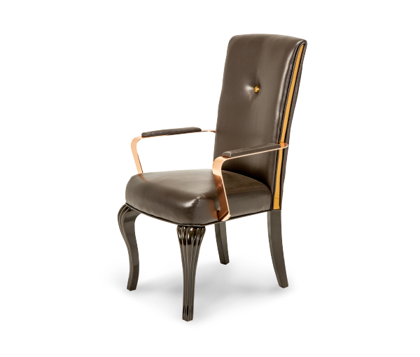 AICO - Michael Amini - Hollywood Loft Arm Chair Ganache