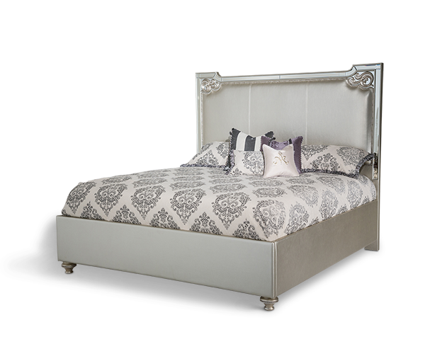 AICO - Michael Amini - Bel Air Park Cal King Upholstered Bed