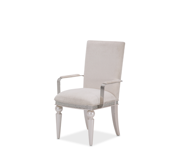 AICO - Michael Amini - Glimmering Heights Arm Chair Ivory