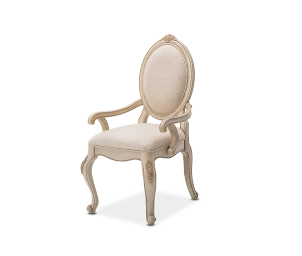 AICO - Michael Amini - Lavelle Cottage Arm Chair Blanc