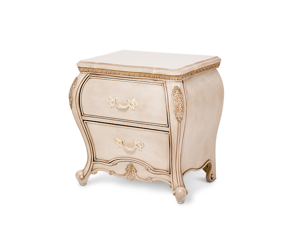 AICO - Michael Amini - Lavelle Cottage Nightstand Blanc