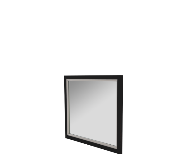 AICO - Michael Amini - Sky Tower Wall Mirror Black Ice