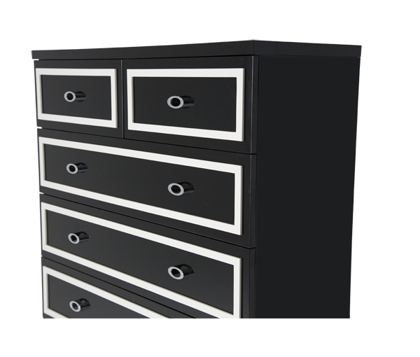 AICO - Michael Amini - Sky Tower 7 Drawer Chest Cloud White