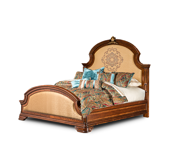 AICO - Michael Amini - Grand Masterpiece Eastern King Panel Bed (4 pc)