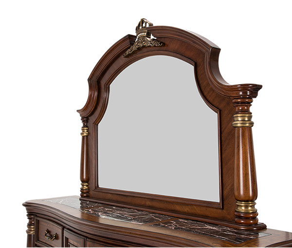 AICO - Michael Amini - Grand Masterpiece Dresser Mirror Royal Sienna