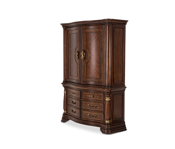 AICO - Michael Amini - Grand Masterpiece Door Chest (2 pc)