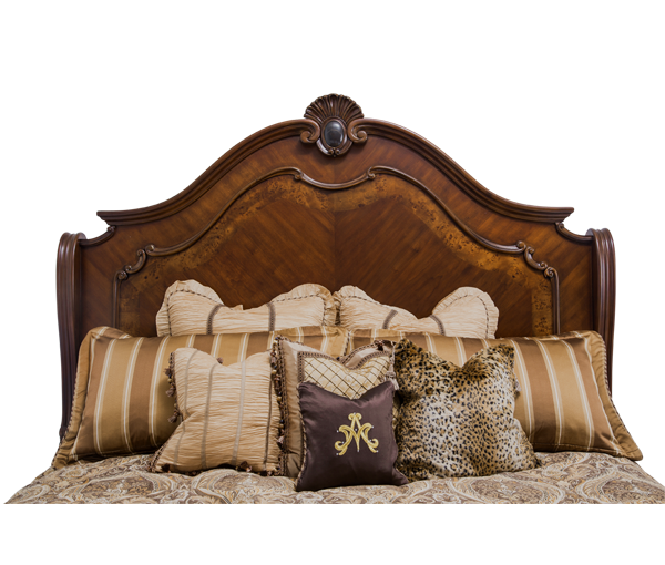 AICO - Michael Amini - Bella Veneto Cal King Sleigh Bed