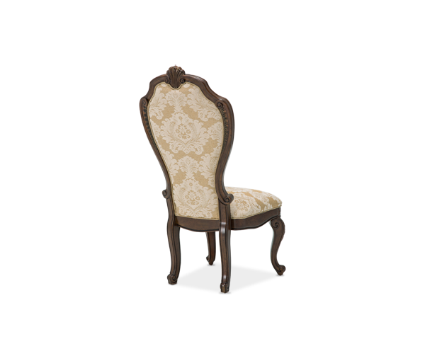 AICO - Michael Amini -Bella Veneto Side Chair Cognac