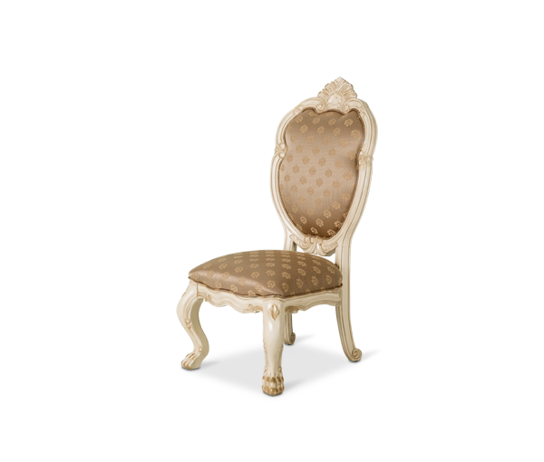 AICO - Michael Amini - Chateau de Lago Side Chair Blanc