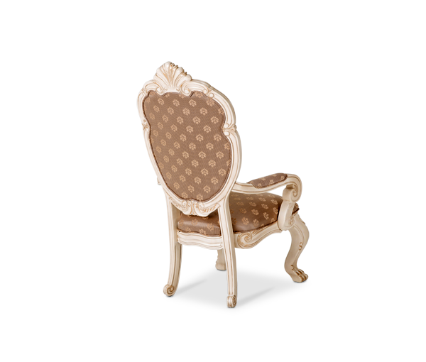 AICO - Michael Amini - Chateau de Lago Arm Chair Blanc