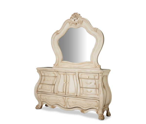 AICO - Michael Amini - Chateau de LagoDresser & Mirror (2pc)