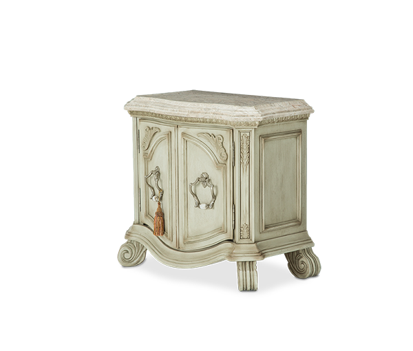 AICO - Michael Amini - Villa di Como Bachelor's Chest Moonlight