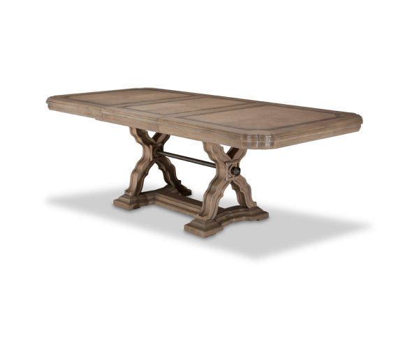 AICO - Michael Amini - Tangier Coast Rectangular Dining Room Table (2 pc)