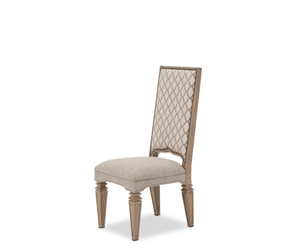 AICO - Michael Amini - Tangier Coast Side Chair Desert Sand
