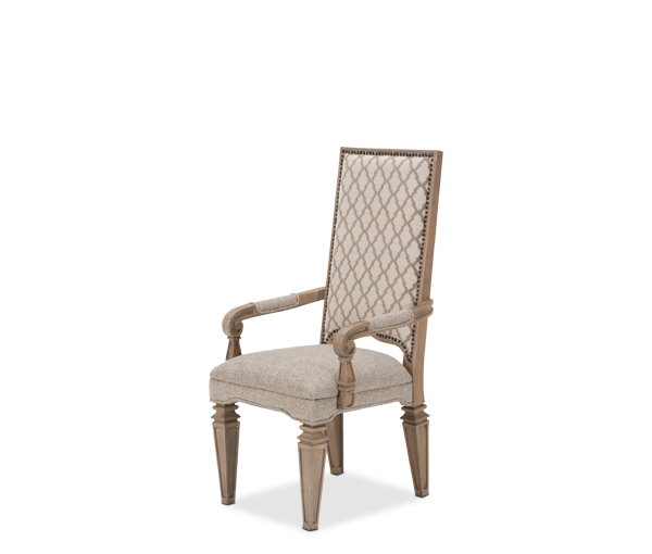 AICO - Michael Amini - Tangier Coast Arm Chair Desert Sand