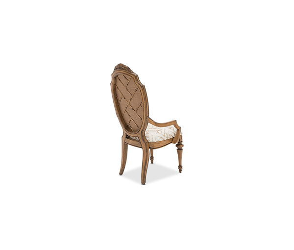 AICO - Michael Amini - Excursions Arm Chair Caramel Cashmere