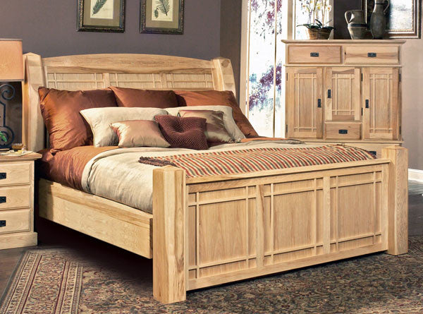 A-America - Amish Highlands Panel Bed 2