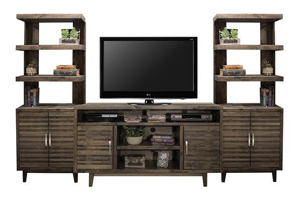 Entertainment Wall - Kagan's Home