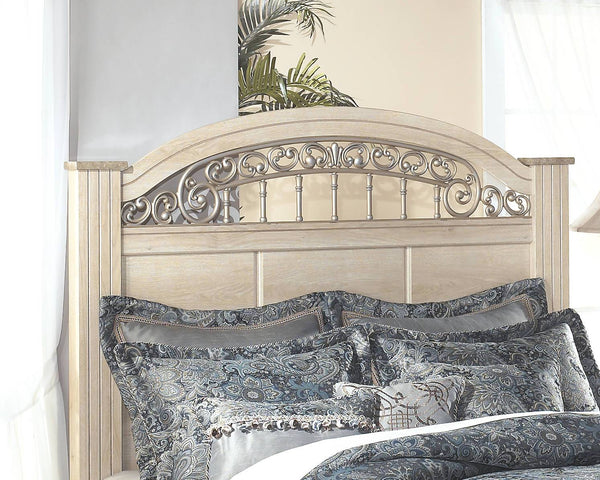 Ashley Signature - Beds -  Catalina Queen Poster Headboard- Kagans Home