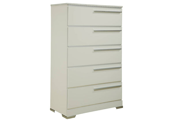 Ashley Signature - Dressers -  Brillaney Five Drawer Chest- Kagans Home