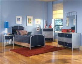 Hillsdale - Brayden 4pc Mesh Twin Bedroom Suite