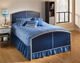 Hillsdale - Brayden Mesh Full Bed Silver and Navy