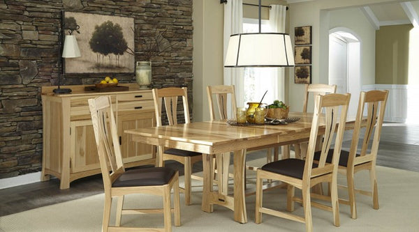 A-America - Cattail Bungalow NT Trestle Table 1