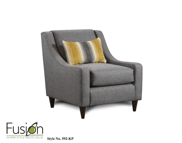 Fusion 592 Max Gray Chair