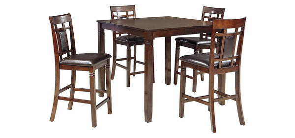Ashley Signature - Dining Table -  Bennox DRM Counter Table Set (5/CN)- Kagans Home