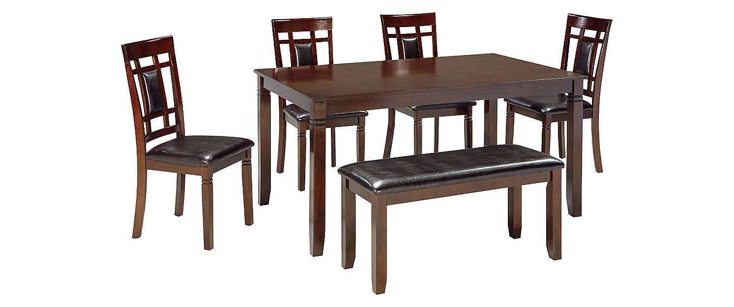 Kagans Home Ashley Signature Dining Table Coviar Dining Room Table Set 6 Cn