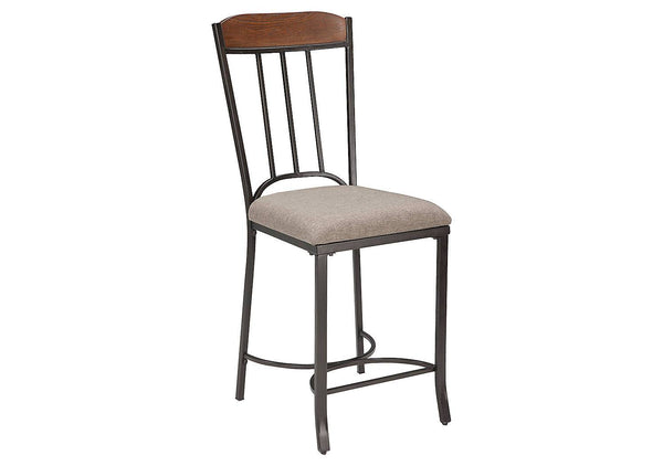Ashley Signature - Stools -  Zanilly Upholstered Barstool (2/CN)- Kagans Home