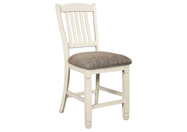 Ashley Signature - Stools -  Bolanburg Upholstered Barstool (2/CN)- Kagans Home