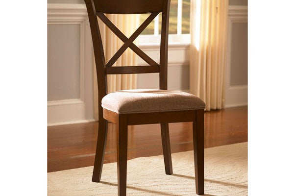 A-America - Desoto Oval X Back Side Chair 1