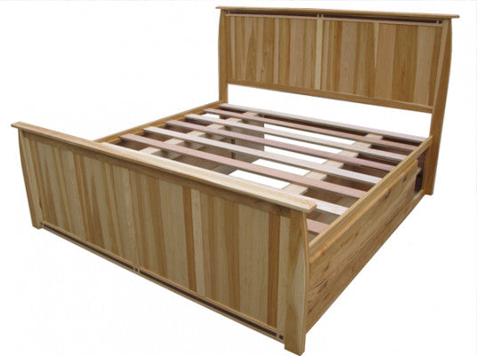 A-America Adamstown Panel Storage Bed 2