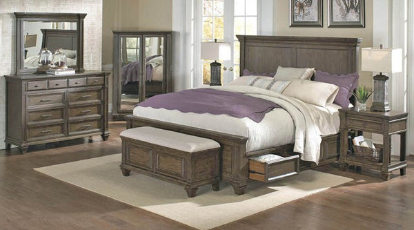 A-America - Gallatin Storage Bed 1