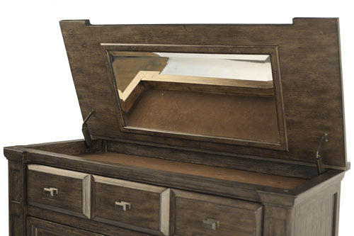 A-America - Gallatin Tall Chest w Flip Top Mirror 2