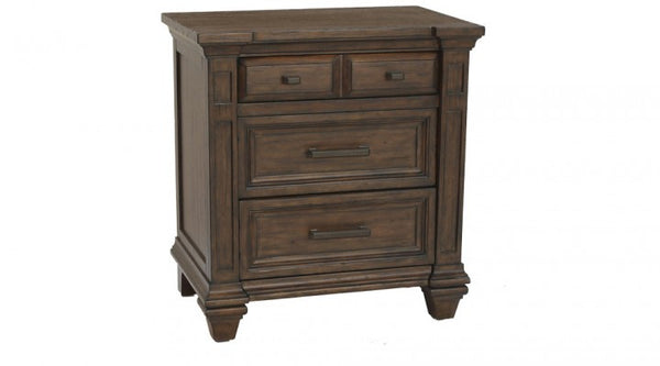 A-America - Gallatin 3 Drawer Nightstand 1