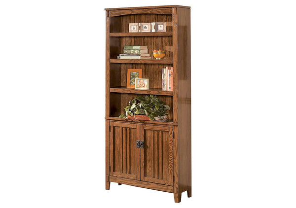 Ashley Signature - Bookcases -  Cross Island Large Door Bookcase- Kagans Home